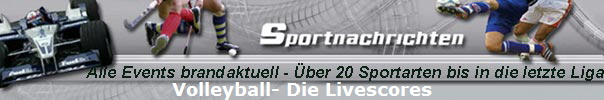 Volleyball- Die Livescores